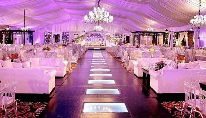 wedding halls coronavirus